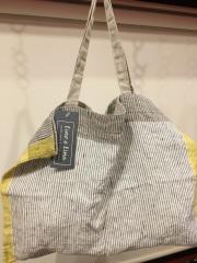 lino e  lina の麻トートバッグ