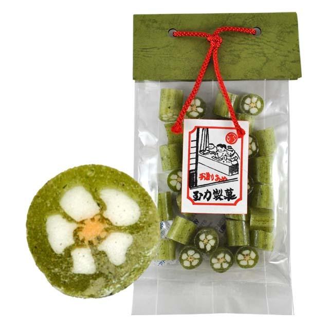 花の組飴 茶の葉