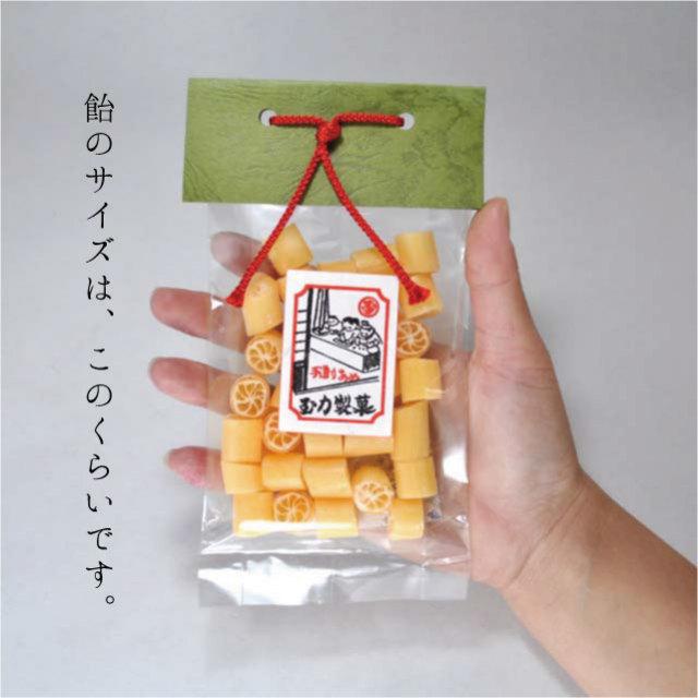 玉力製菓サイズ感