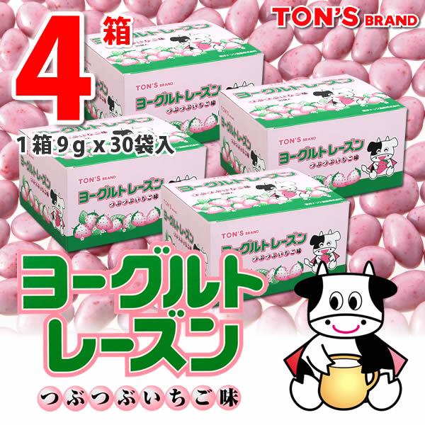 ヨーグルトレーズン いちご味 4箱