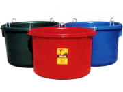 プラスチック製飼桶