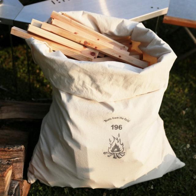 薪 たき木 袋 ケース ログキャリー バッグ