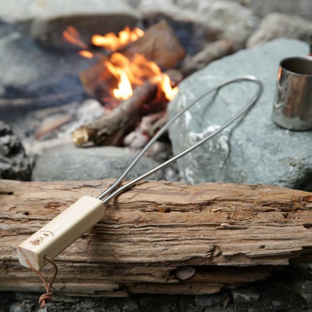 キャンプ 焚き火 焚き火台 五徳 グリルブリッジ スノーピーク