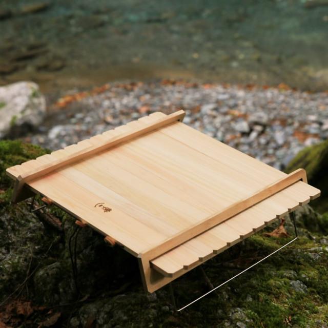 折りたたみ テーブル ウッドテーブル 木製 キャンプ アウトドア 登山 ハイキング