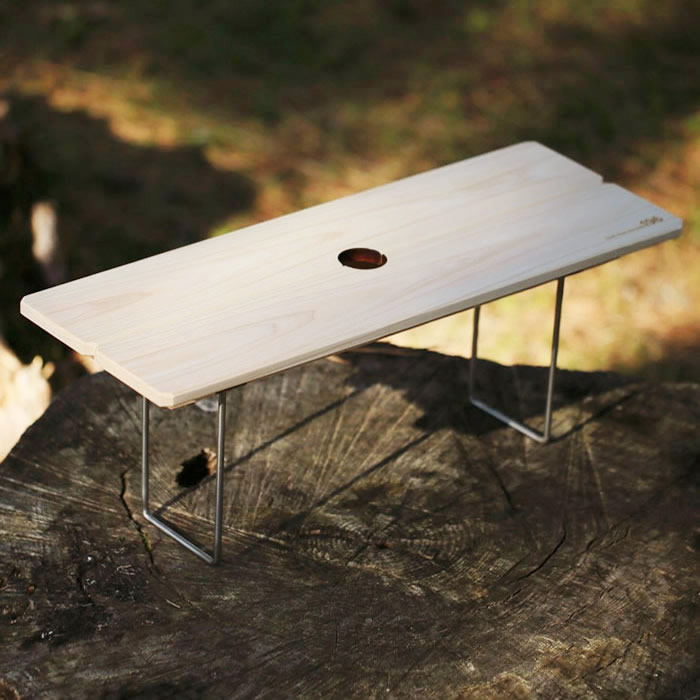 ウッドテーブル ワンポール オプション