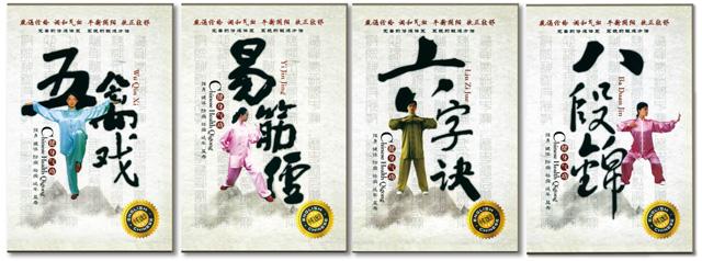 の4本セット 太極拳 太極拳用品 太極拳グッズ 武術 カンフー DVD VCD
