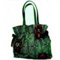村山大島紬で作るリボンのバッグ