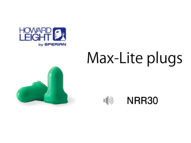 Howard Leight Max-Lite Plugs NRR30