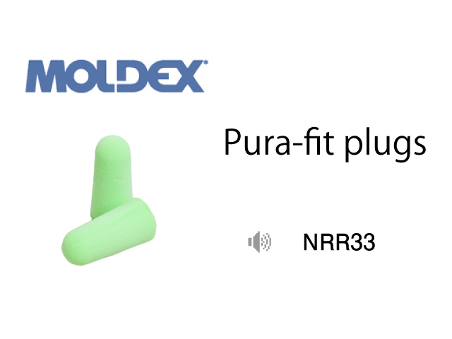 Moldex Pura-fit Plugs NRR33