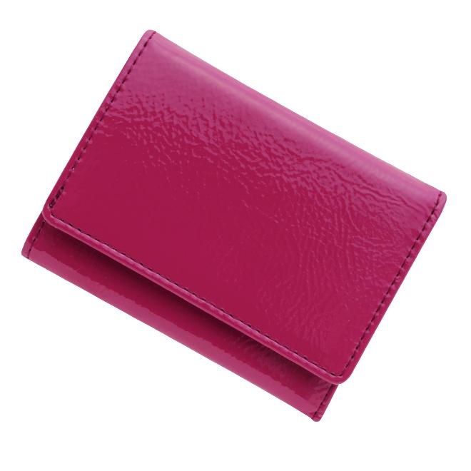 極小財布エナメル