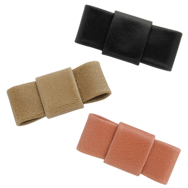 極小財布カスタムアイテム BIGリボンモチーフ