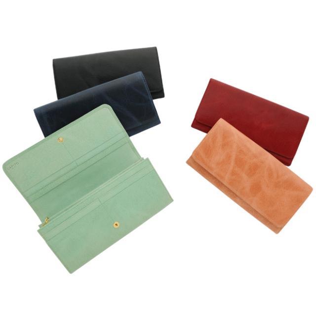 長財布(ニブリックエコレザー/豚革)レディースモデル CAPITO(カピート)日本製