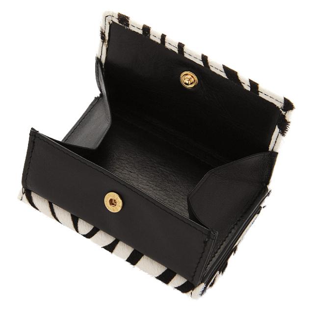 極小財布 BOX型小銭入れ ハラコ調