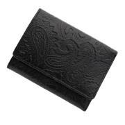 極小財布 スムース ペイズリー型押し
