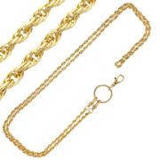 フレンチロープゴールド「ロング」チェーン 130cm