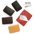 極小財布ミニ財布小さい財布miniサイフBECKERベッカーキーケース革小物
