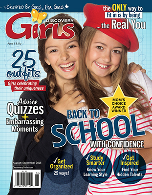 DISCOVERY GIRLS/ディスカバリーガールズ(アメリカ女の子向け英語定期購読 980円x6冊)