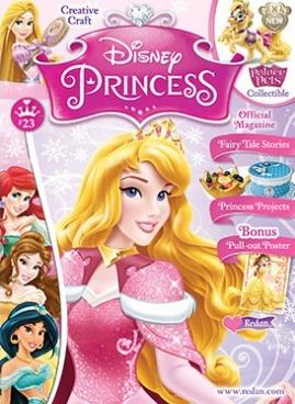 Disney Princess Magazine/ディズニープリンセス (アメリカ幼児英語教材の定期購読 980円x6冊)