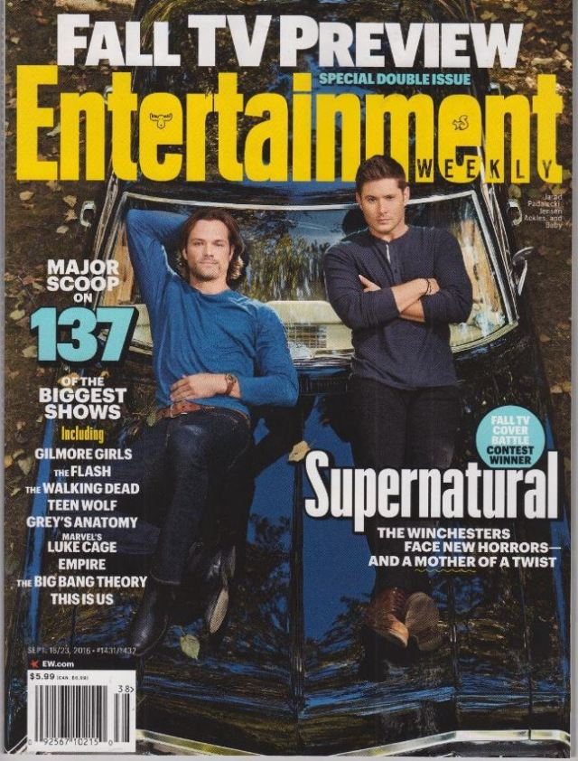 Entertainment Weekly Septembe.16-23 2016  [US] │エンターテイメントウィーク