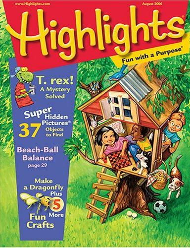 Highlights Magazine/ハイライト  (海外子供英語雑誌の定期購読 760円x12冊)