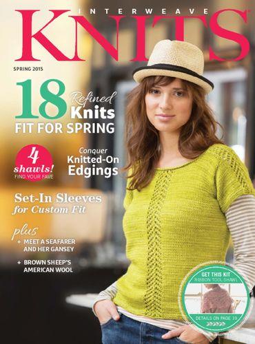 Interweave Knits (ニットアメリカ洋雑誌 定期購読1580円x4冊)