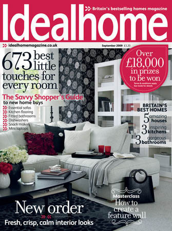 Ideal home/ アイディールホーム (イギリス住宅雑誌 定期購読 1380円x12冊 )