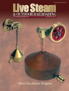 Live Steam & Outdoor Railroading (洋雑誌 定期購読1,738円x6冊 )