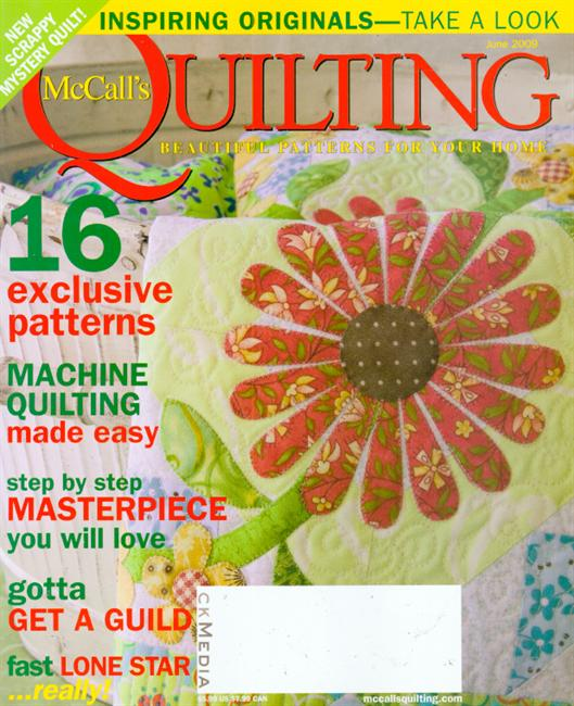 McCall's Quilting (洋雑誌 定期購読 1380円x6冊)
