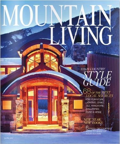 MOUNTAIN LIVING (洋雑誌 定期購読 1180円x7冊 )