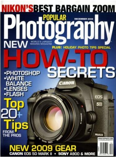 Popular Photography (洋雑誌 定期購読 540円x12冊)