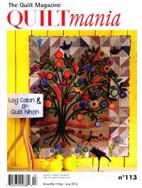 Quiltmania(英語版) (定期購読2100円x6冊)