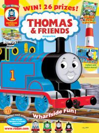 Thomas & Friends Magazine/トーマスとフレンズ (アメリカ幼児英語教材の定期購読 980円x6冊)