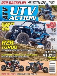 ATV/UTV  Action (洋雑誌 定期購読 820円x12冊 )