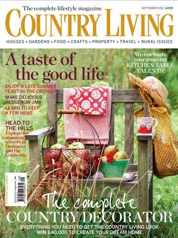 Country Living UK/カントリーリビング (イギリス雑誌 定期購読 1280円x12冊 )