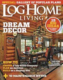 Log Home Living/ログホームリビング(海外住宅雑誌 年間購読 1,080円x9冊)
