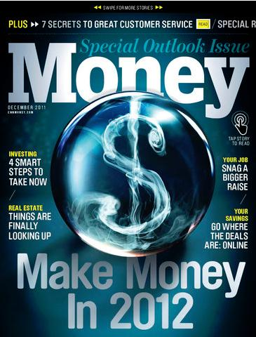 Money / マネー(ビジネス洋雑誌・定期購読 640円x12冊)