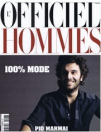 L'officiel Hommes (フランス洋雑誌 定期購読 3,715円x4冊 )