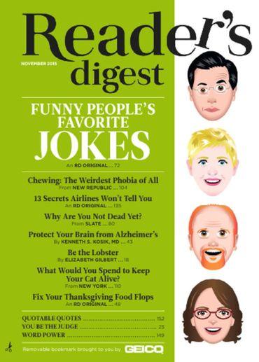Reader's Digest (US版)リーダーズダイジェスト(洋雑誌 年間購読720円x10冊 )