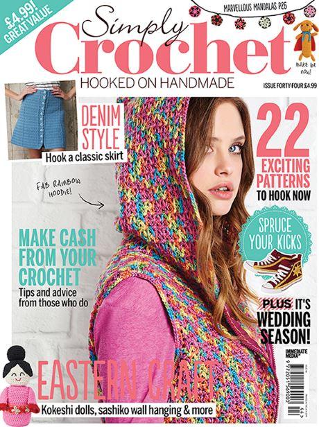 Simply Crochet クロシェ イギリス雑誌