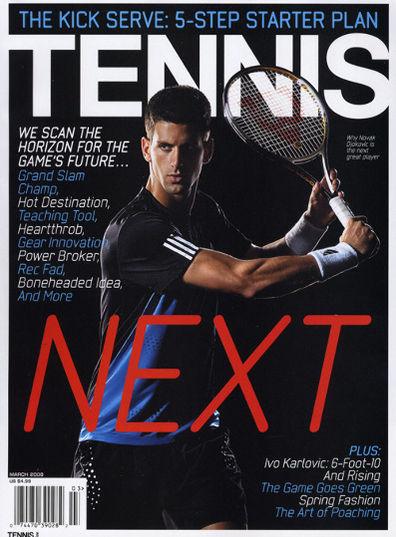 Tennis Magazine (洋雑誌 定期購読 1120円x6冊 )