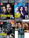 TV Guide/ Comic Con 2014��Supernatural/The Vampire Diaries/Batman��������