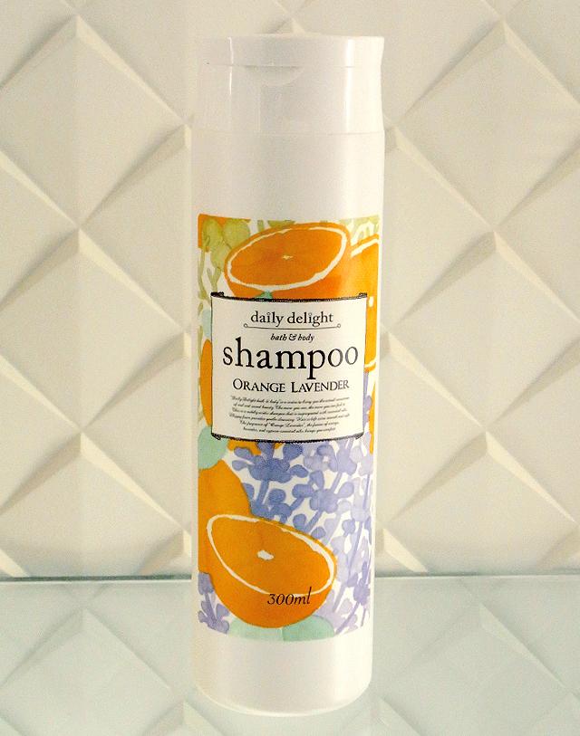 デイリーディライト アミノシャンプー オレンジラベンダーの香り