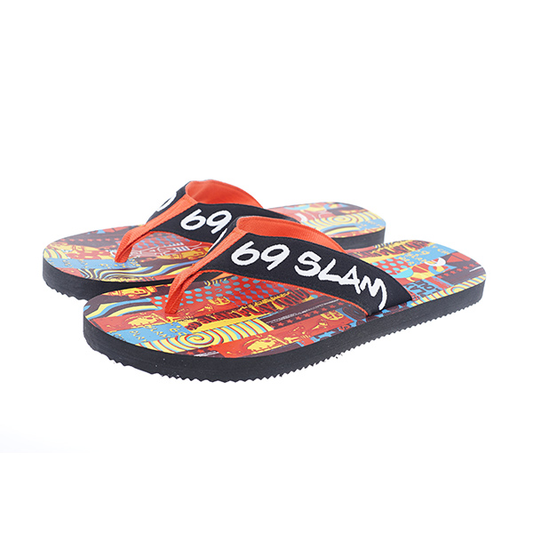 メンズ ビーチサンダル【ASNMAM-AT】MIX & MATCH PRINTED SANDAL
