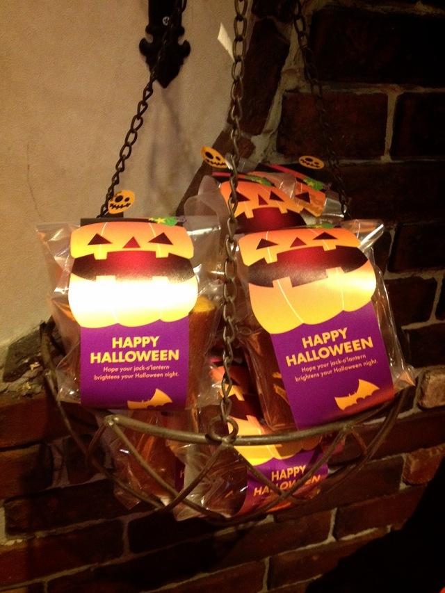 リトルかぼちゃのバウムクーヘン