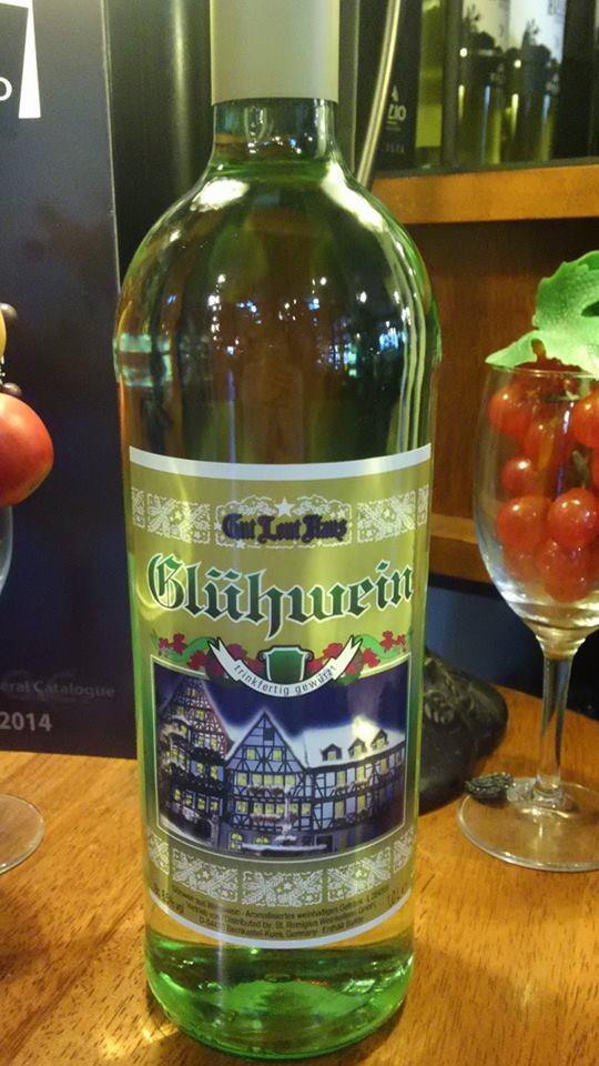 グリューワイン(ホットワイン) 白