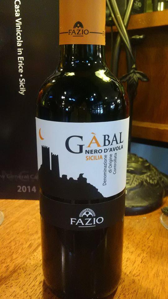 ガバル Sicilia IGT ハーフボトル FAZIO