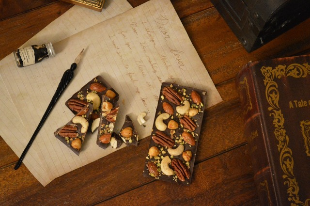 tablet chocolat nuts