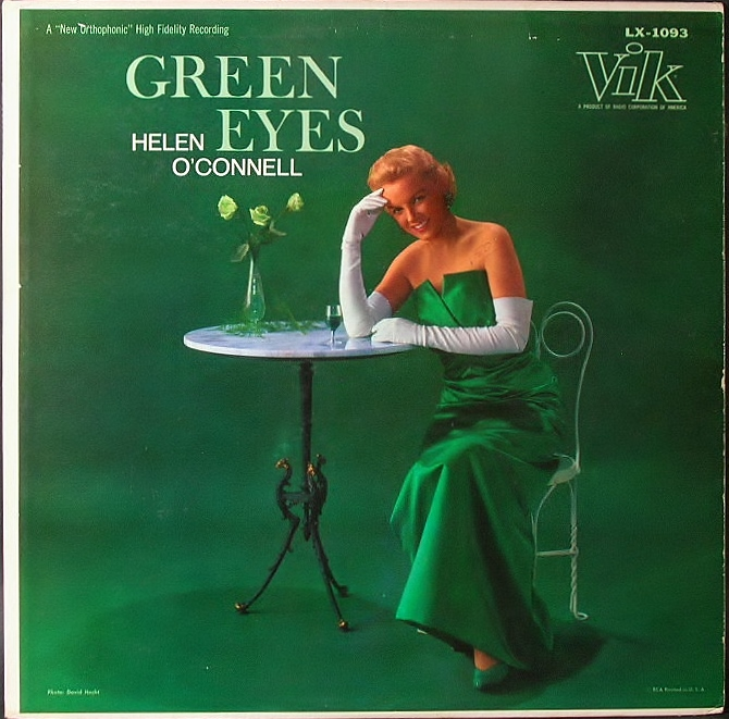 Helen O'Connell ヘレン・オコネル / Green Eyes