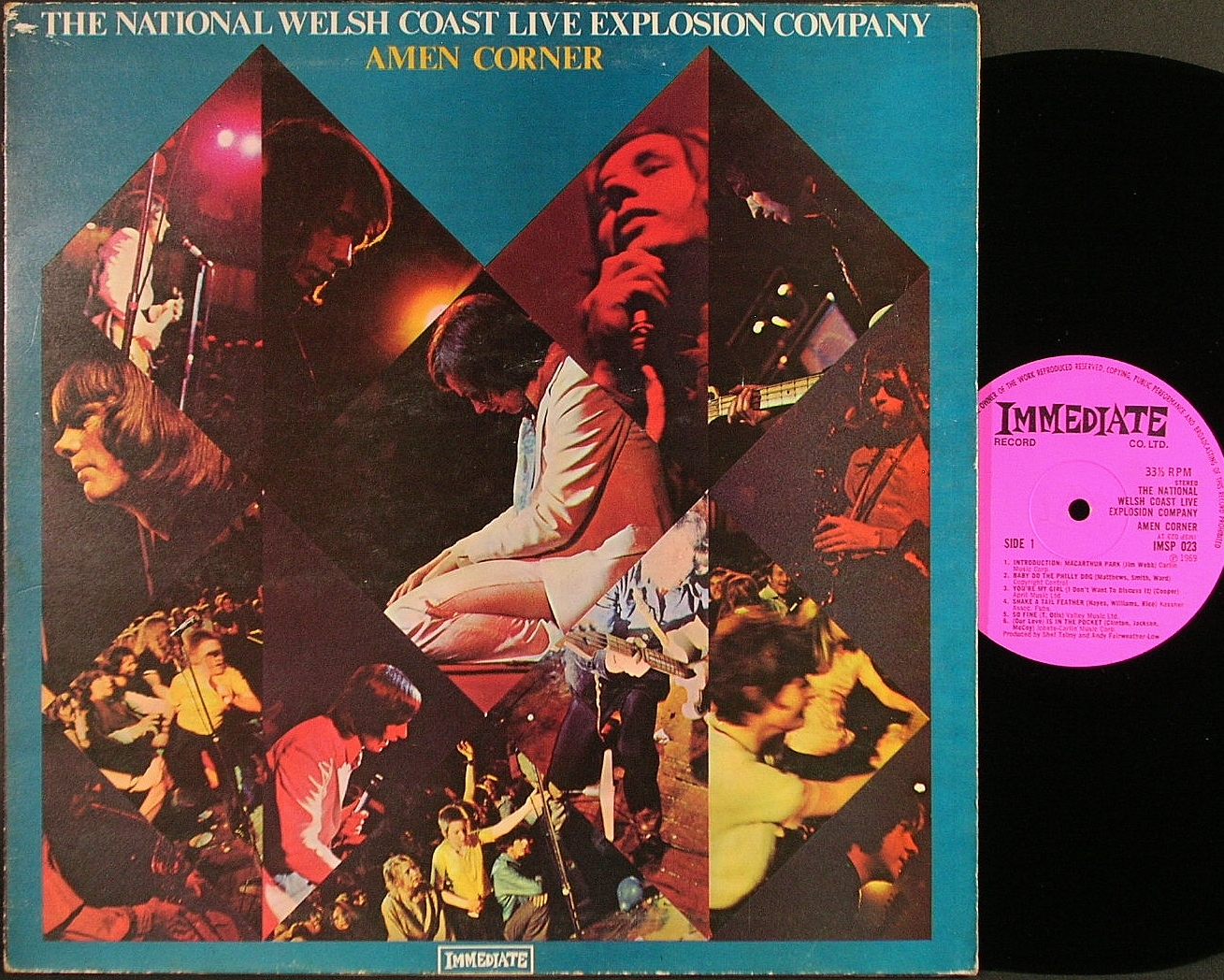 Amen Corner エーメン・コーナー / The National Welsh Coast Live Explosion Company