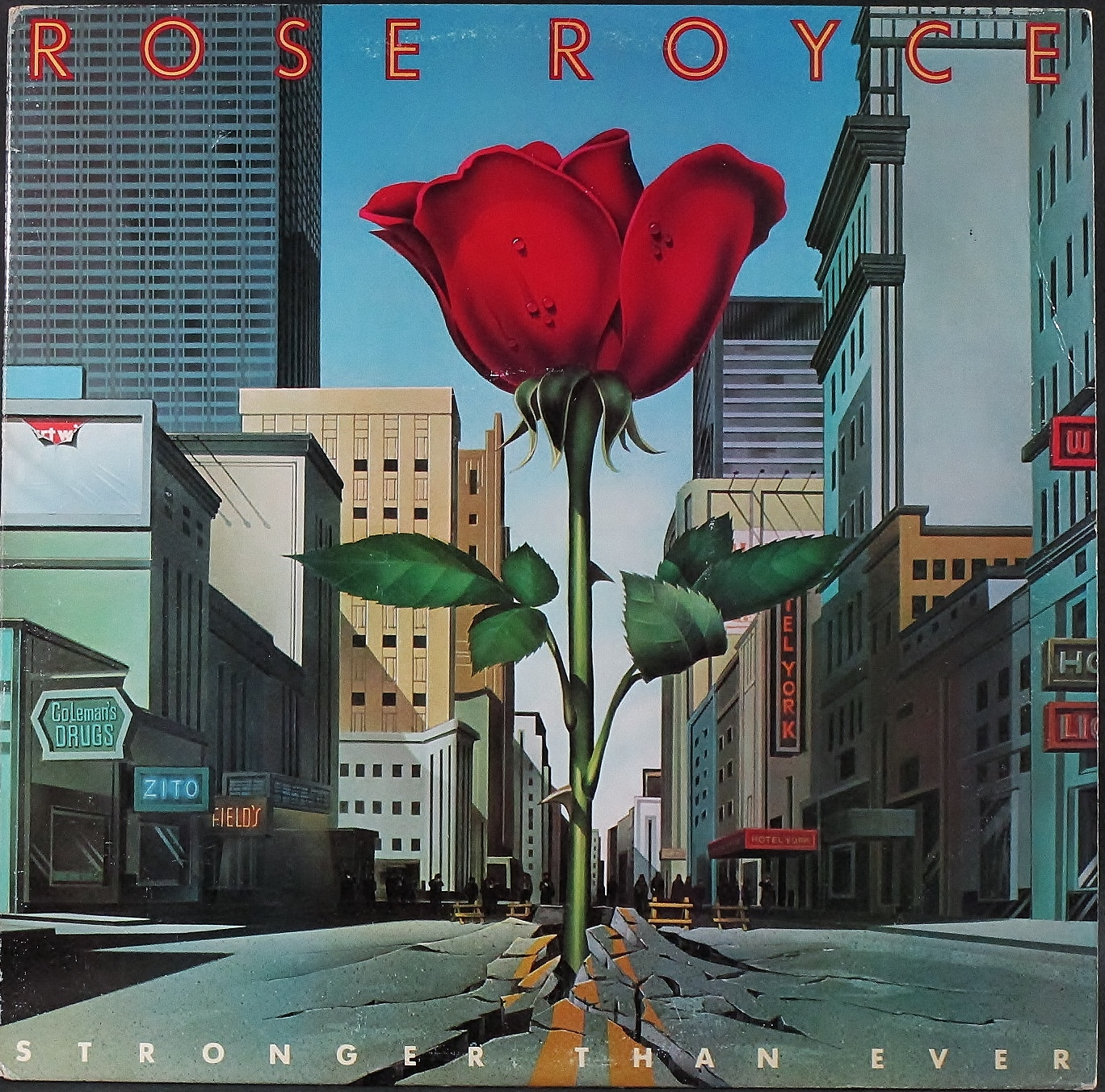 Rose Royce ローズ・ロイス / Stronger Than Ever